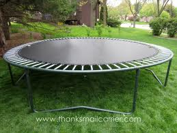 Attractive Nuisance - Trampoline